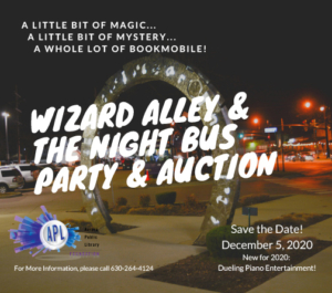 Wizard Alley & The Night Bus Party & Auction